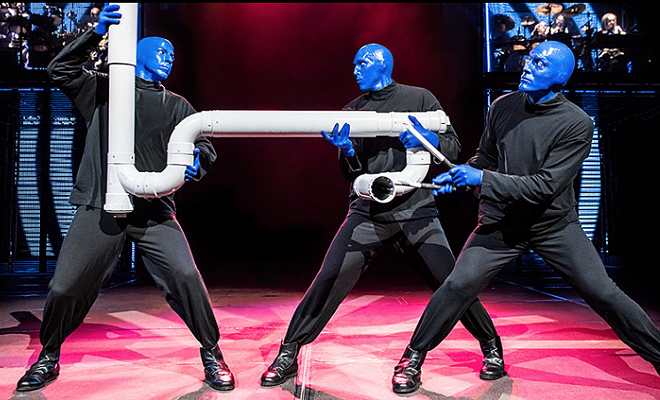 PHOTO VIA BLUE MAN GROUP/FACEBOOK