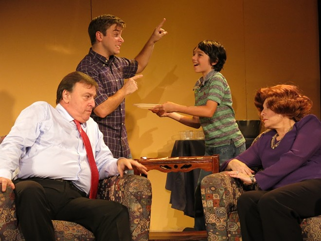 """""""Daddy Issues"""" at the Parliament House Footlight Theatre. - LOC ROBERTSON"""