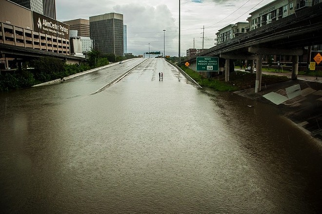A scene from I-45. - PHOTO BY YURI PEÑA