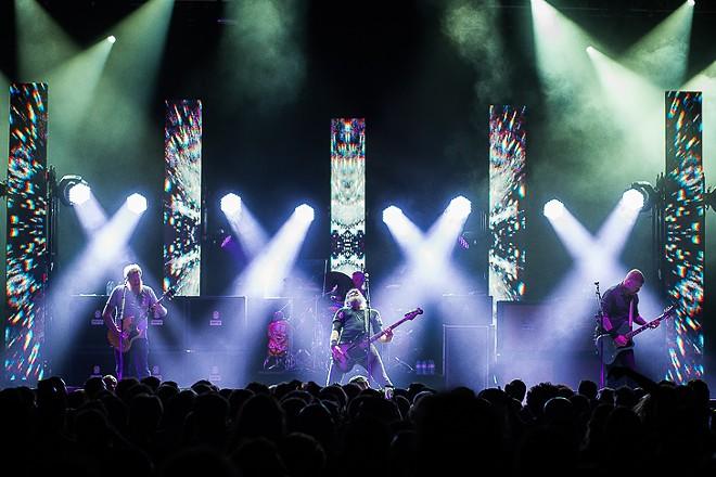 Mastodon at Hard Rock Live - JAMES DECHERT