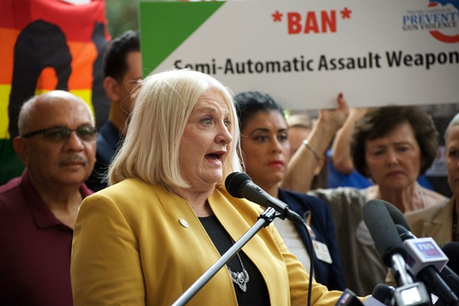 Sen. Linda Stewart - PHOTO BY MONIVETTE CORDEIRO