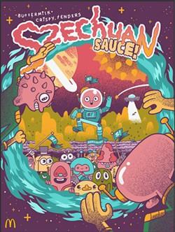 The limited Szechuan Sauce poster