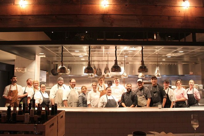 All the participating pastry chefs and their teams - SUE CHIN
