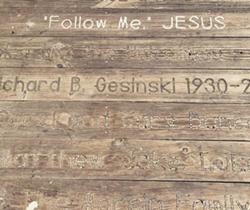 Some of the centennial planks on the Anna Maria Pier - IMAGE VIA ELANA.TODOROV | INSTAGRAM