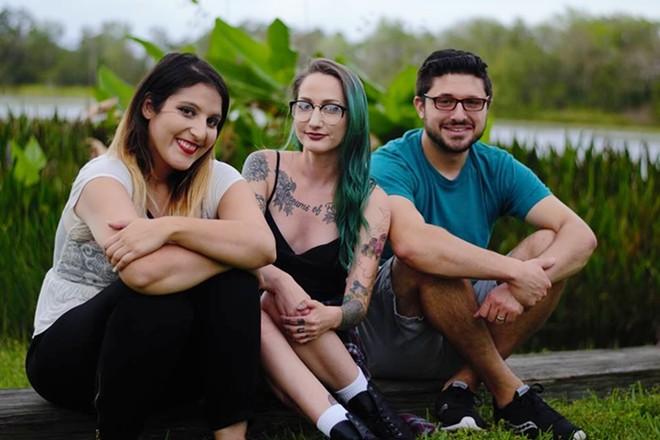 L-R: Nikki Namdar, Bex Larsen and Jeremy Joseph