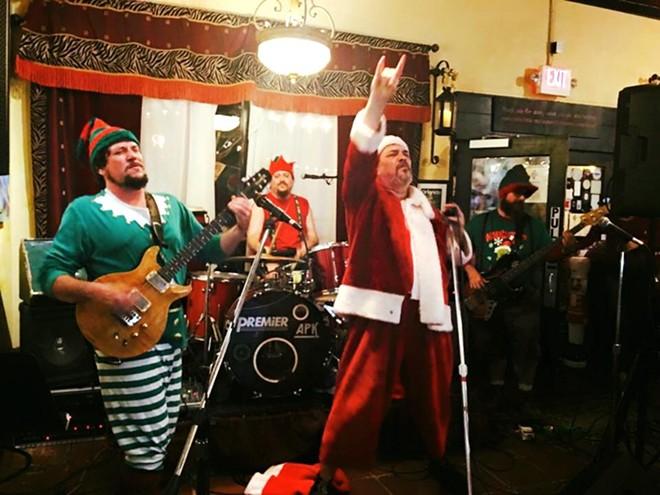 Bad Santa and His Angry Elves - PHOTO VIA BAD SANTA/FACEBOOK