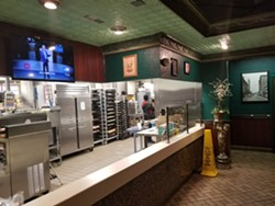 The former Bistro Gourmet counter area at the SODO McDonald's