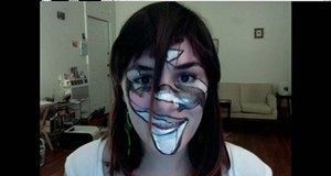 As facial recognition software becomes omnipresent, artists offer DIY defenses