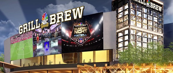 CityWalk's NBC Sports Grill & Brew officially announced for fall 2015