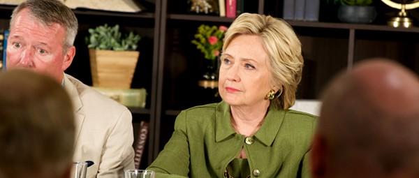 Hillary Clinton comforts Pulse survivors, families at Orlando roundtable