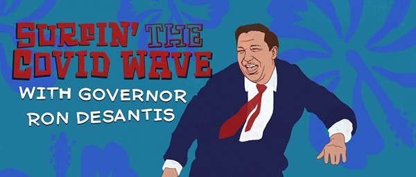 As COVID surges in Florida, Gov. Ron DeSantis makes no public comment, declares no mask mandate, offers no guidance
