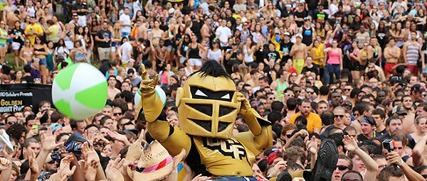 UCF Knights football will play Florida Gators three times in the next 12 years