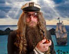 Florida body-painting artist Captain Ron Wolek sets sail for Key West's Fantasy Fest