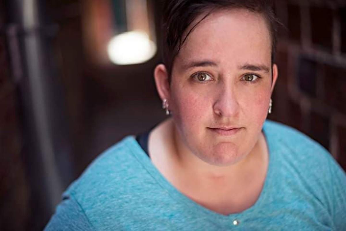 She might look harmless, but Terri Giannoutsos wants to make you scream, puke, faint or run away.