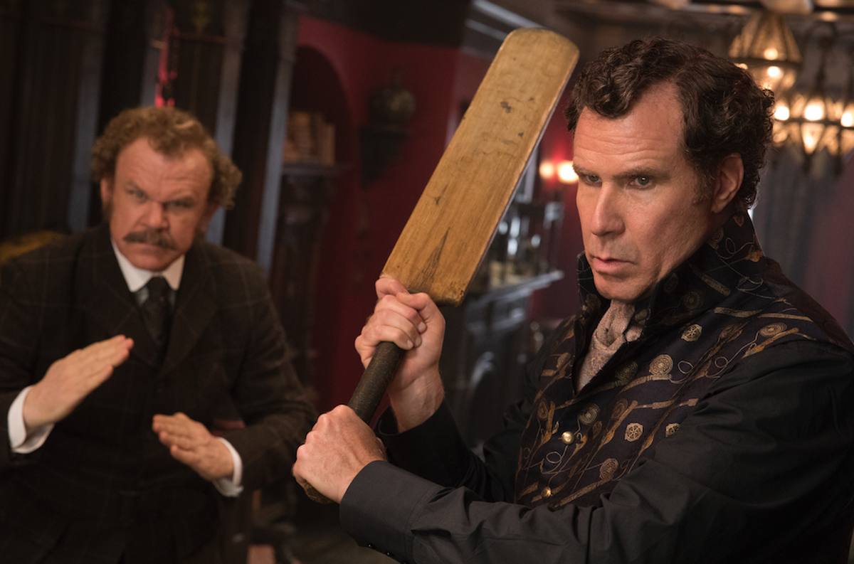 "John C. Reilly and Will Ferrell in ""Holmes and Watson"""