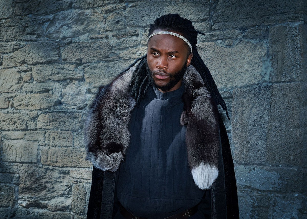 Junior Nyong'o as Hamlet at Orlando Shakes