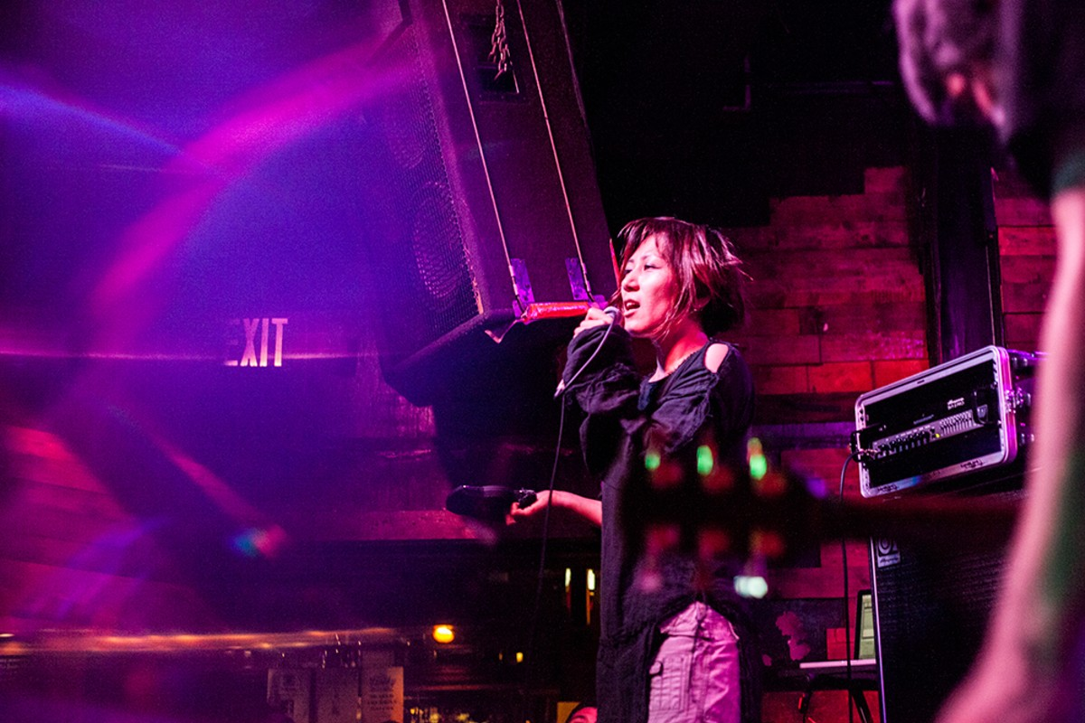 Return of 13 hedgehogs: Photos from Melt Banana and the Hamiltons at Backbooth
