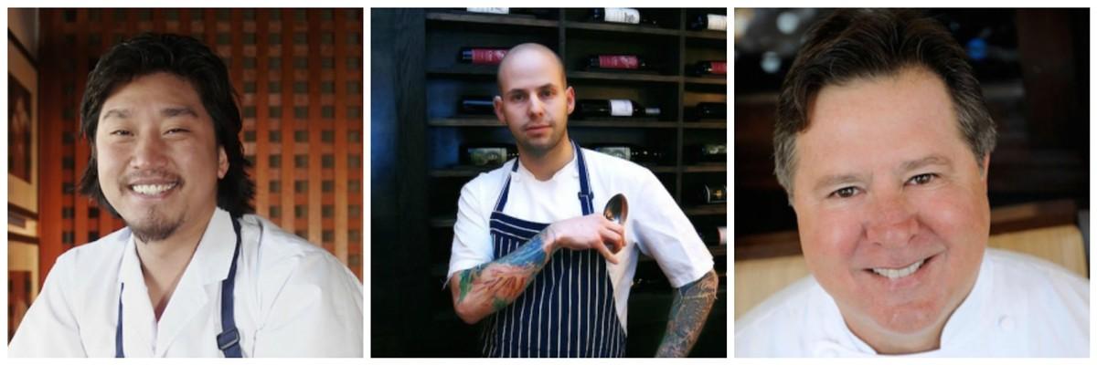 Chefs Edward Lee, Gerard Craft and Norman Van Aken