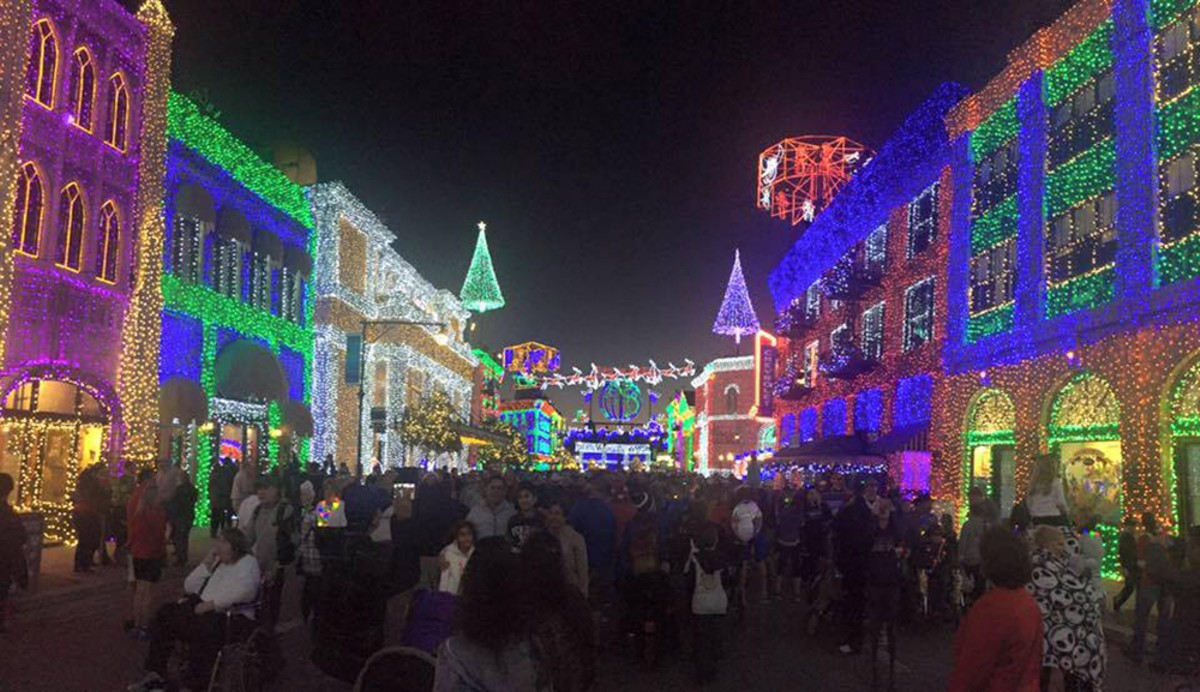 Disney's Osborne Family Spectacle of Dancing Lights (photo by Adam McCabe)