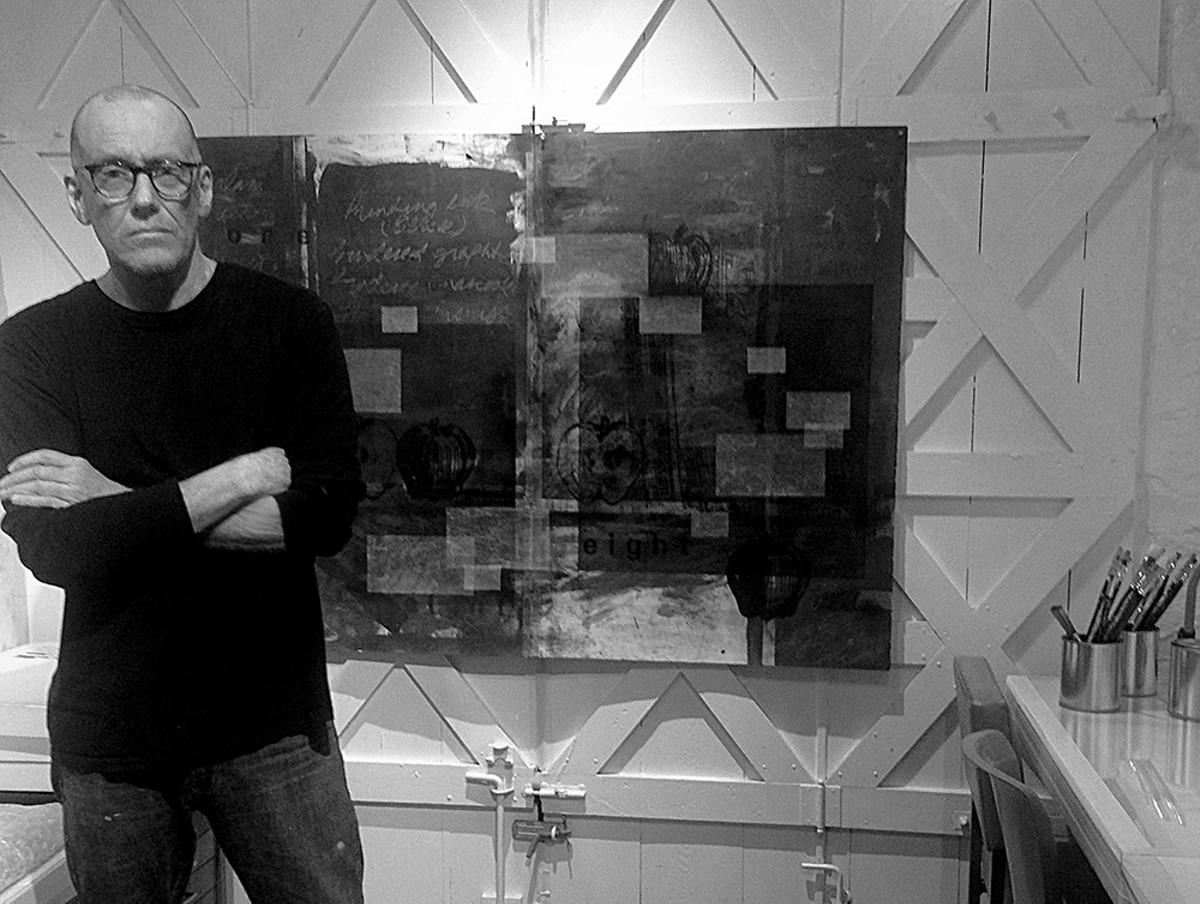 Dan Hess in his studio.