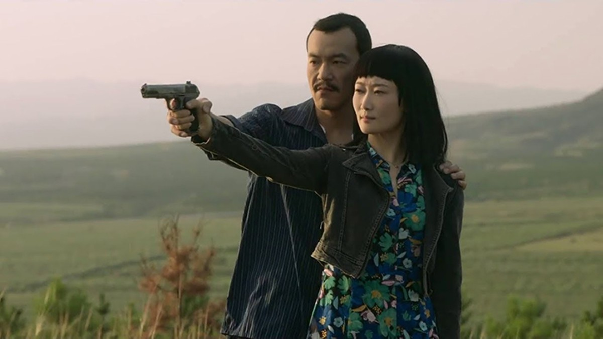 Fan Liao and Tao Zhao in Ash Is Purest White