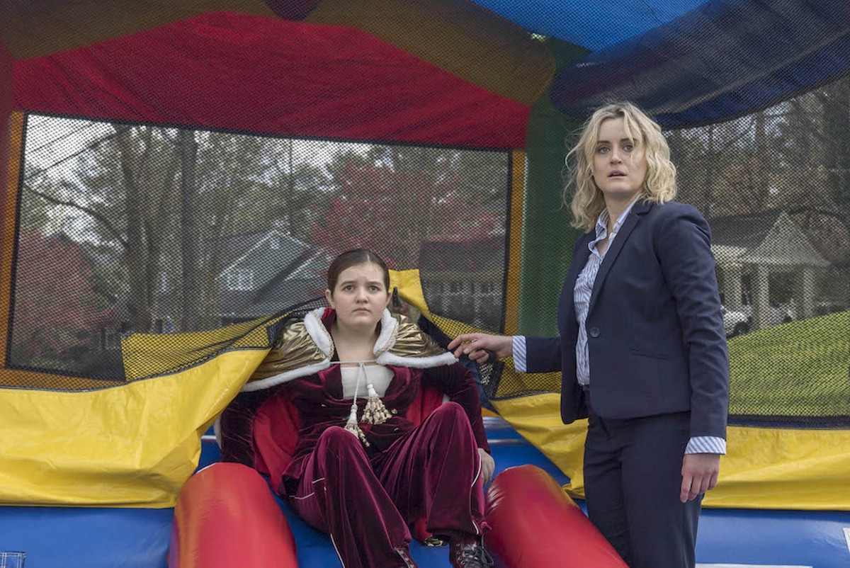 Bryn Vale and Taylor Schilling in Family