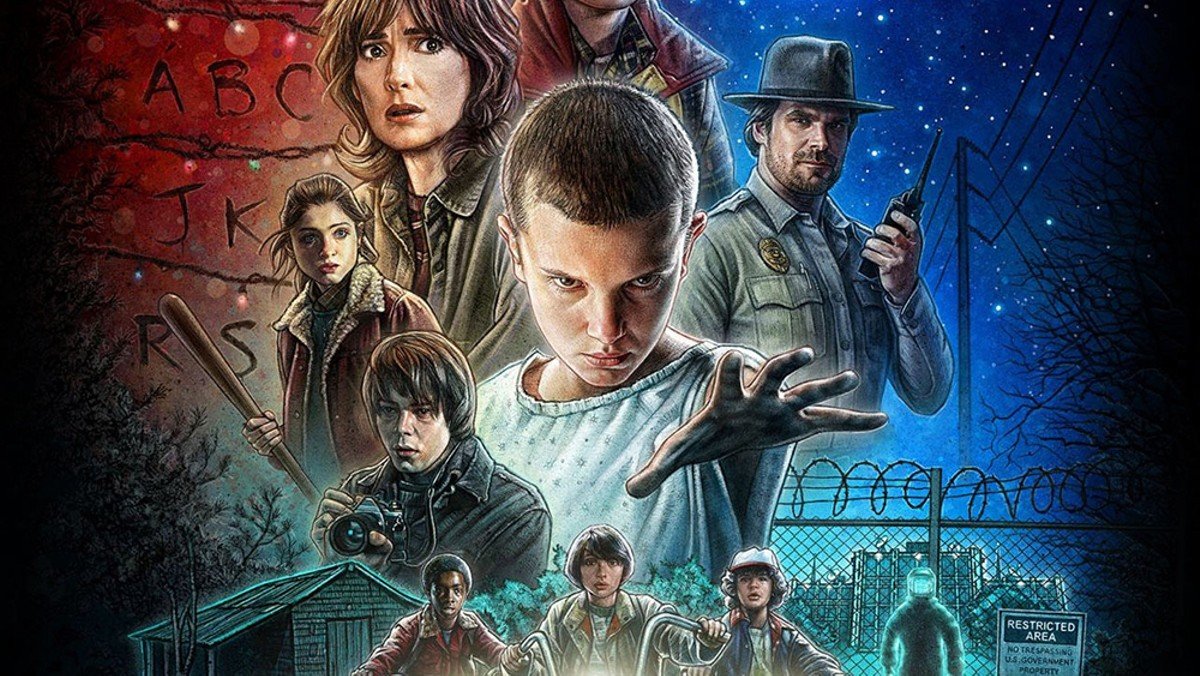Stranger Things cast at Spooky Empire