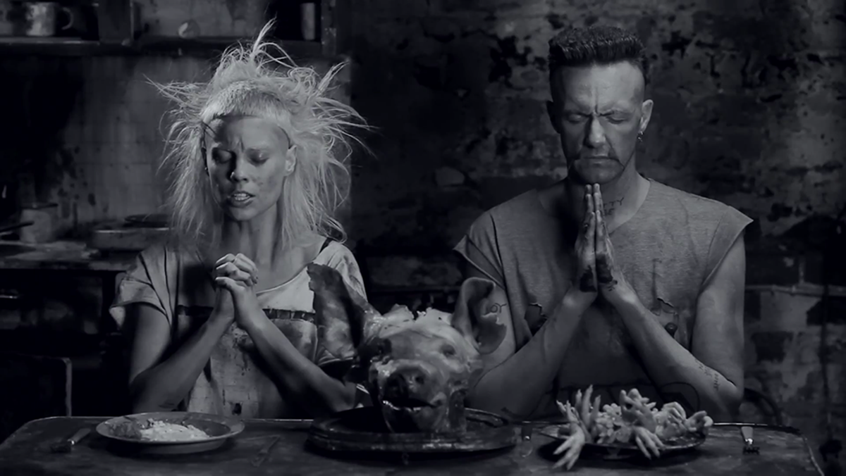 "Die Antwoord, ""I Fink You Freeky"" video still, 2012"