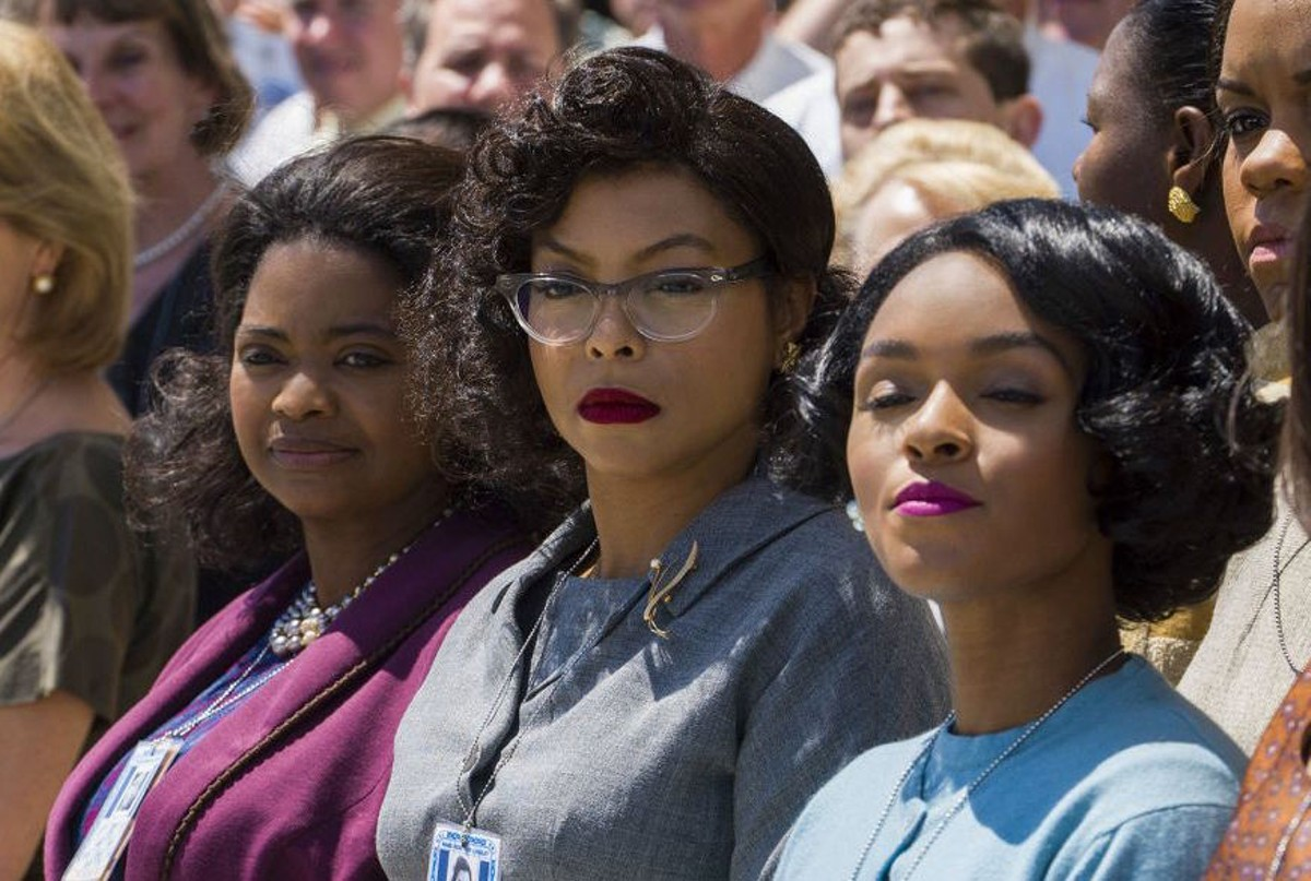 "Octavia Spencer, Taraji P. Henson and Janelle Monaé in ""Hidden Figures"""