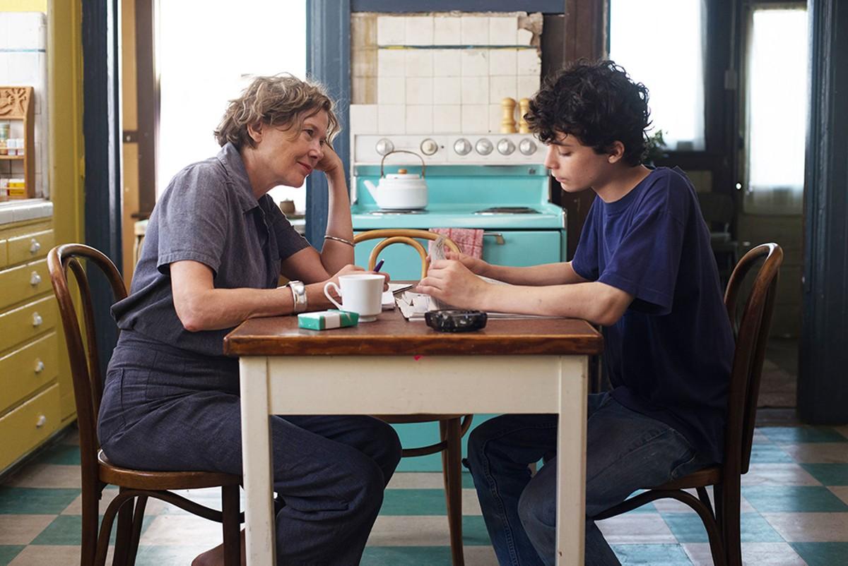 Annette Bening and Lucas Jade Zumann