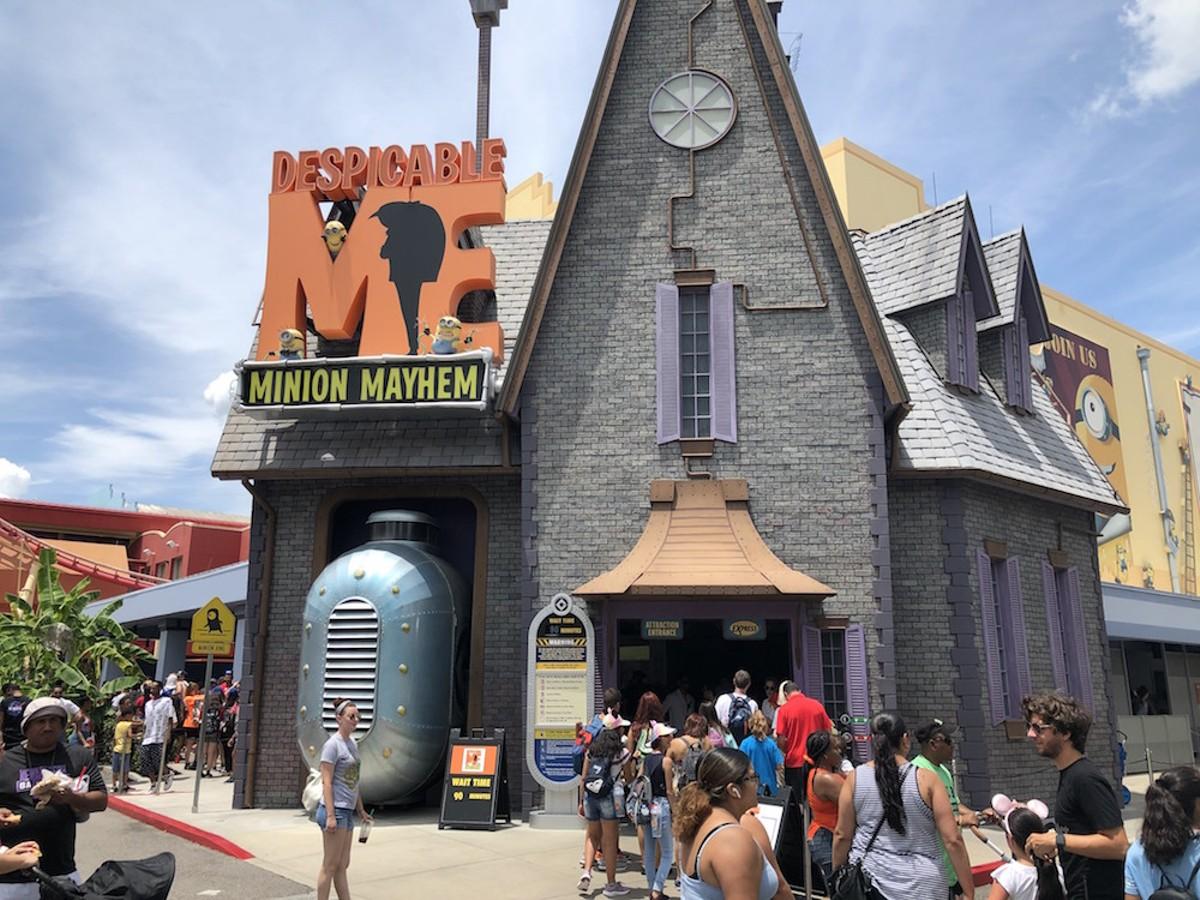 Minion Mayhem at Universal Studios Orlando