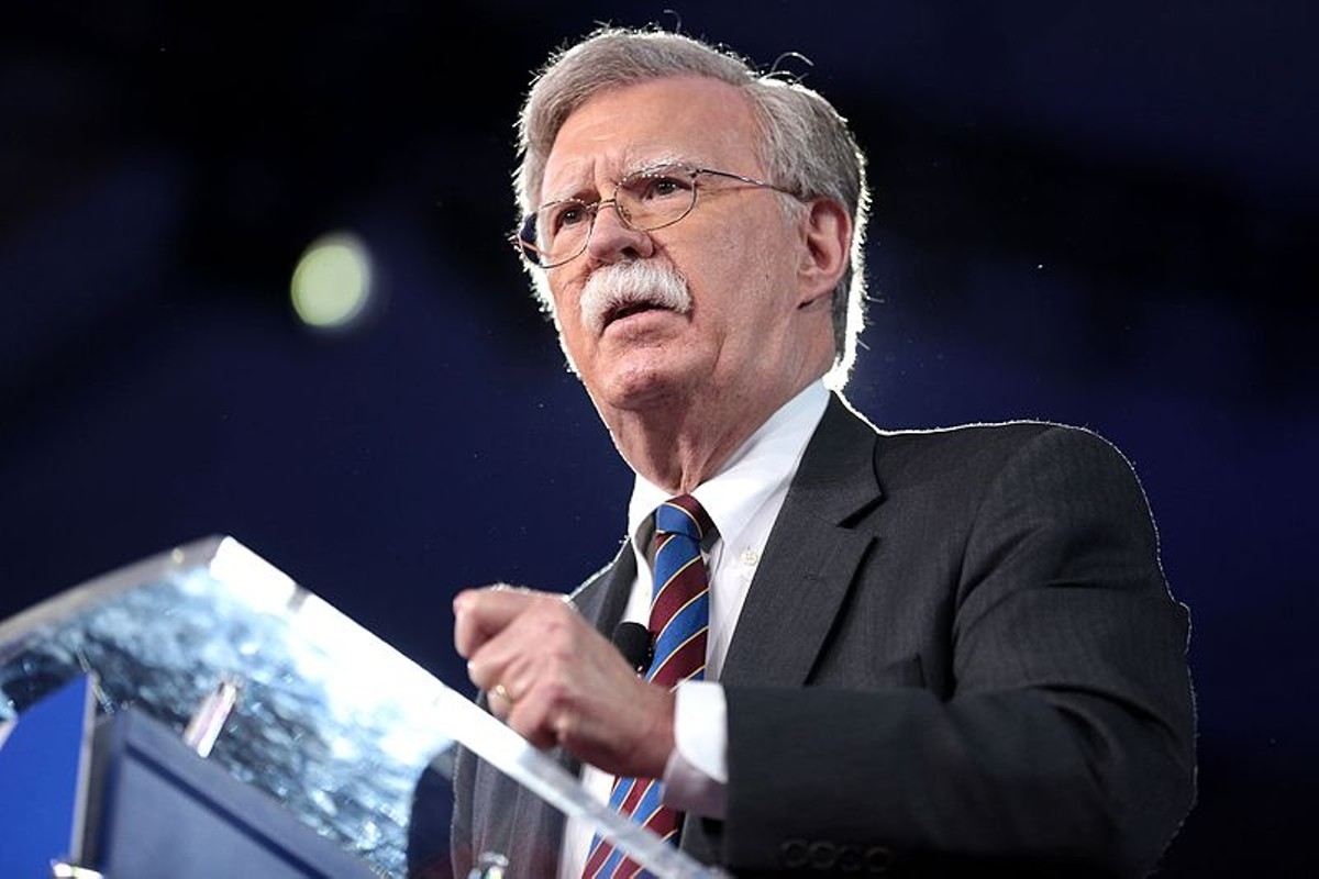 Former Ambassador John R. Bolton speaking at the 2017 Conservative Political Action Conference