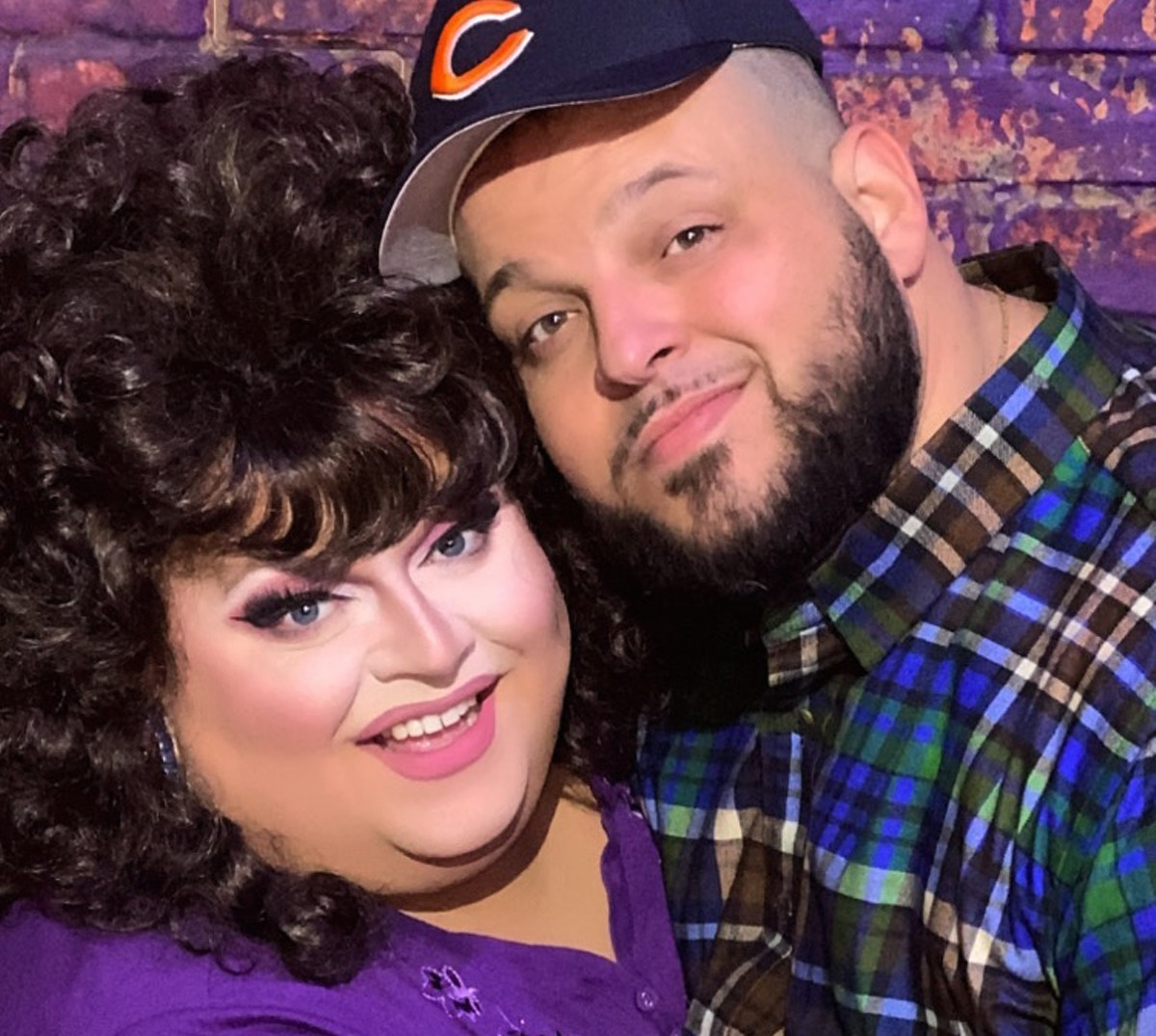 Ginger Minj and Daniel Franzese as Roseanne and Dan Conner