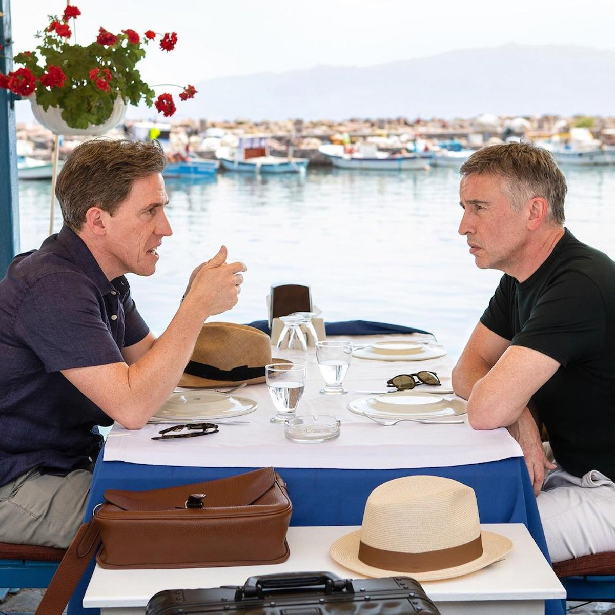 Rob Brydon and Steve Coogan in 'The Trip to Greece'