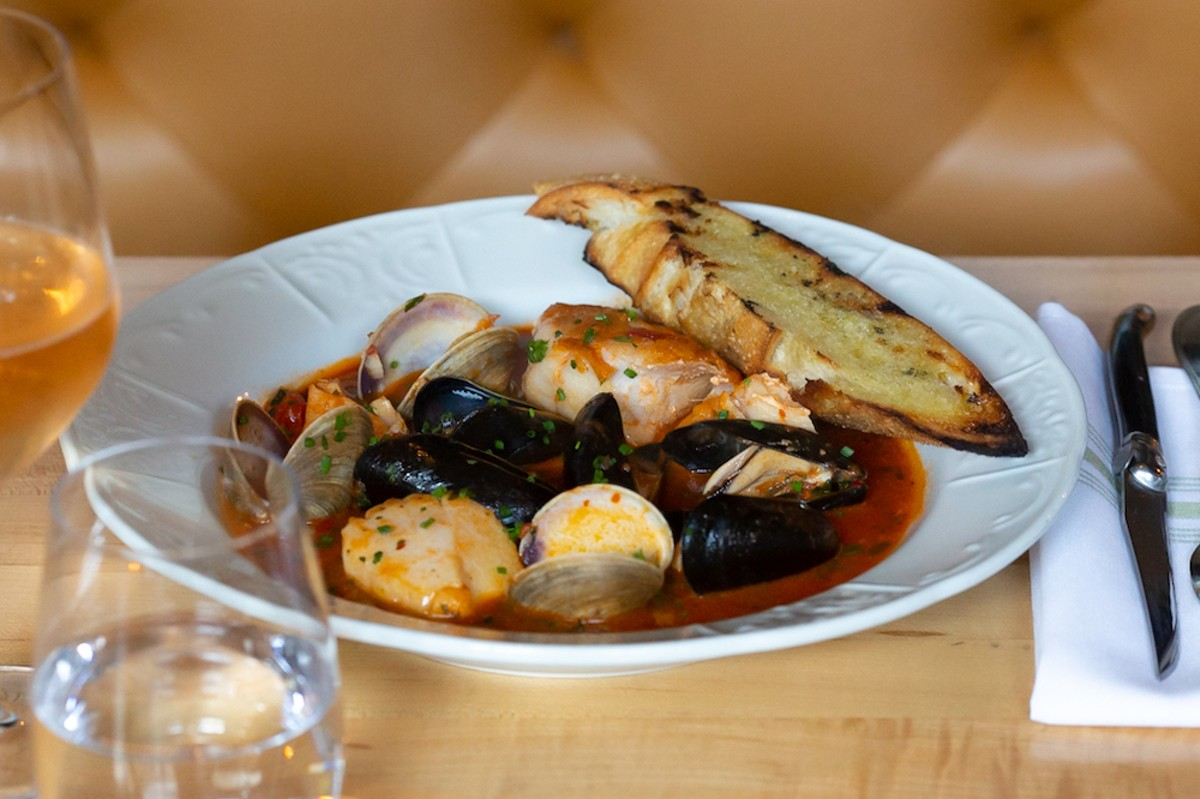 Cioppino at the Osprey.