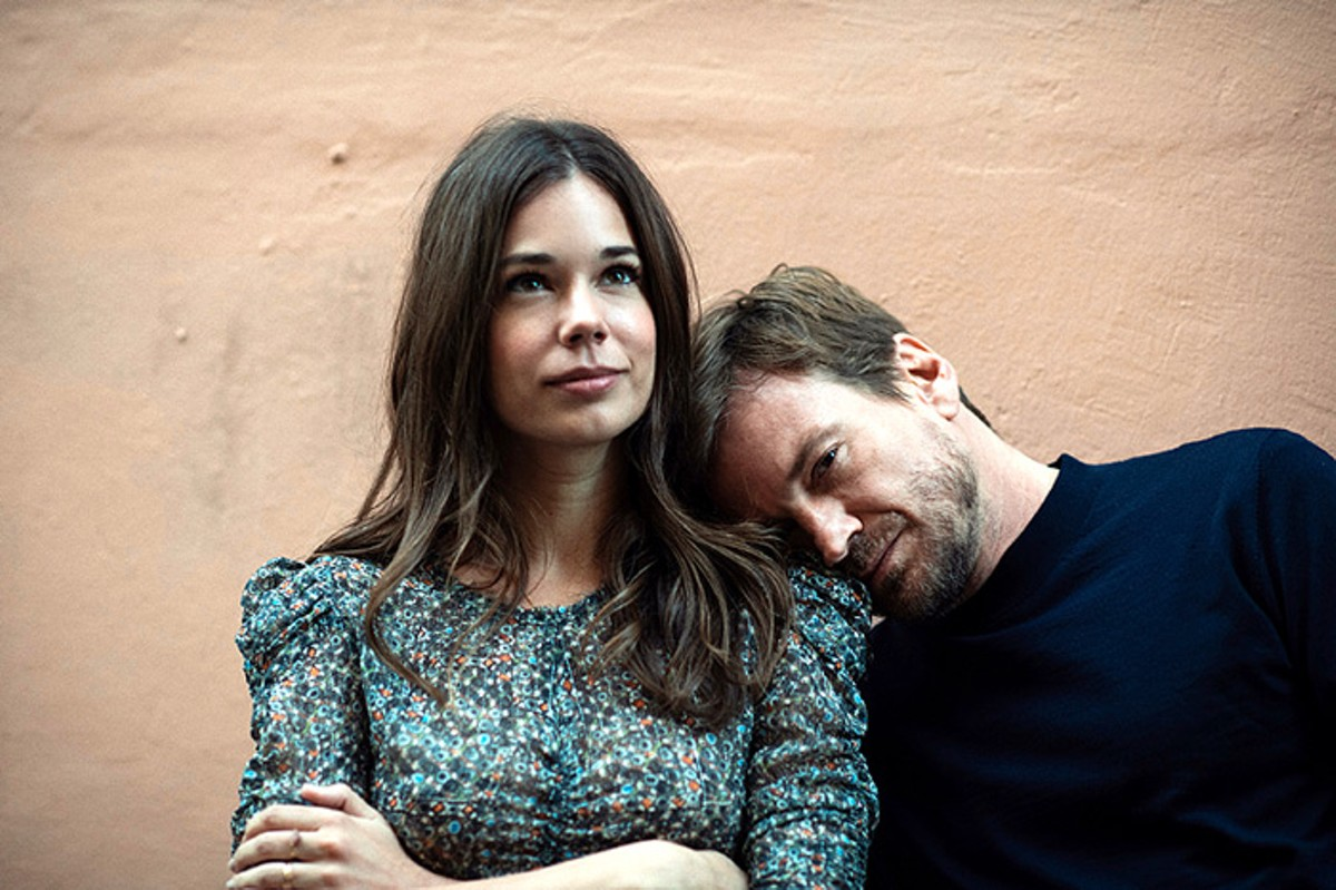Laia Costa and Guillermo Pfening in 'Foodie Love'