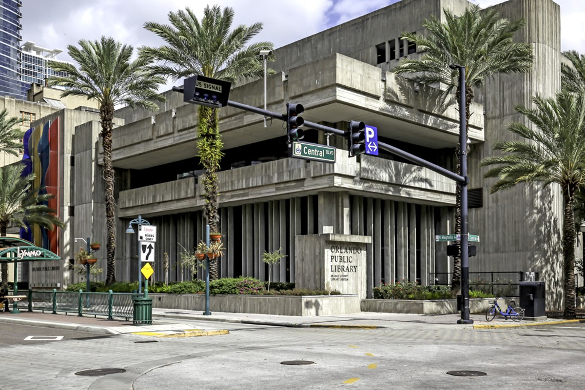 Orlando Public Library, Downtown Branch