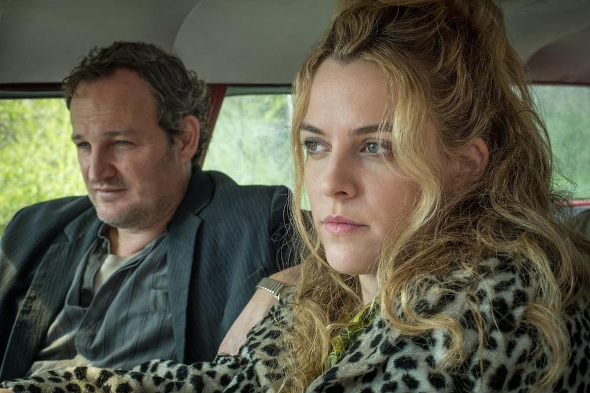 Jason Clarke and Riley Keough in 'The Devil All the Time'