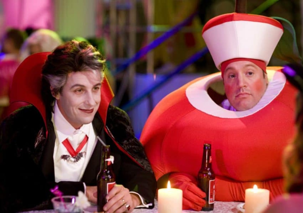 Adam Sandler and Kevin James as Adam Sandler and Kevin James in 'Hubie Halloween'