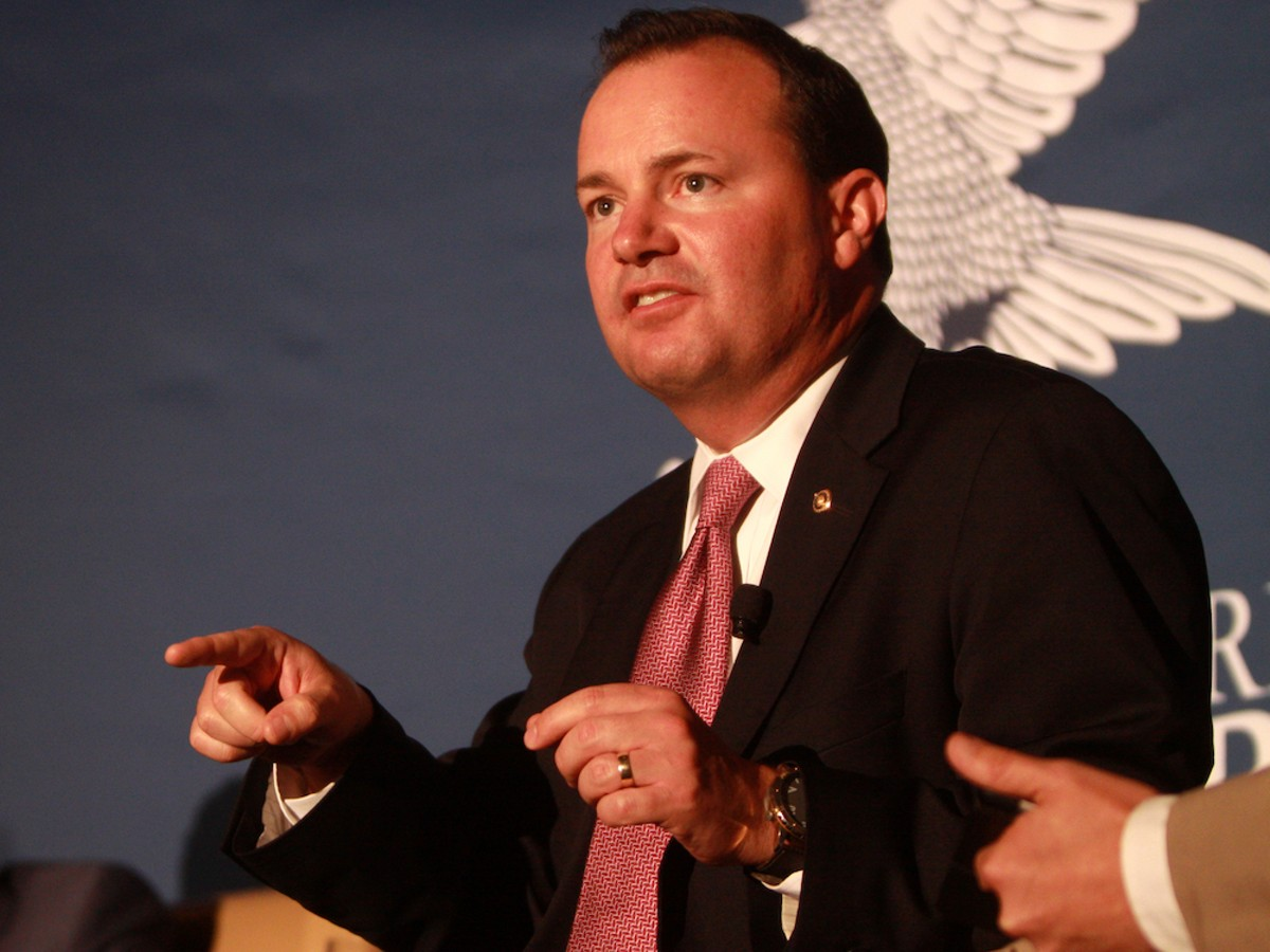 Utah Sen. Mike Lee