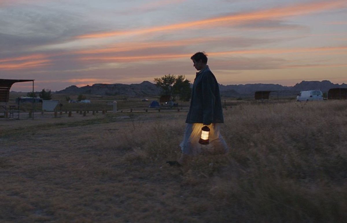 Frances McDormand in 'Nomadland,' a haunting, hyperrealistic tale of modern American poverty