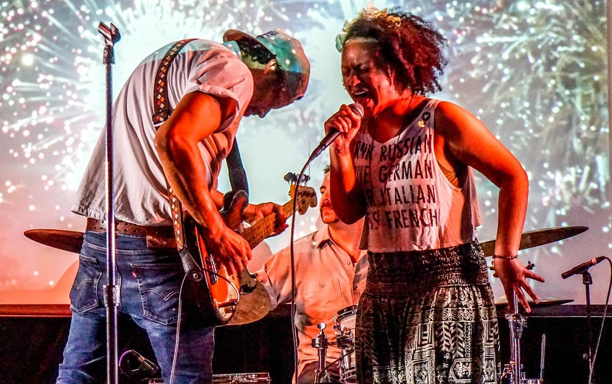 The Sh-Booms play Frontyard Festival's AMP'd Brunch Sunday, May 16