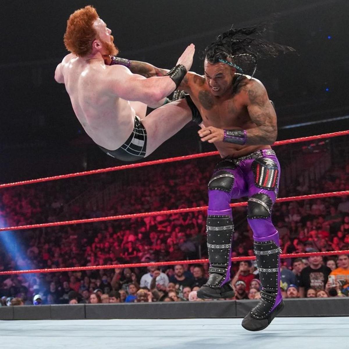 Damian Priest at WWE Monday Night Raw