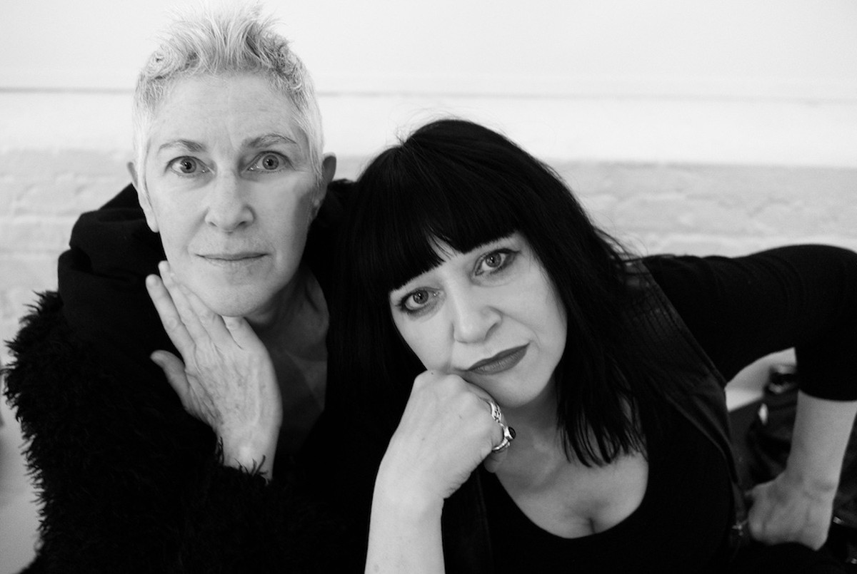 Filmmaker Beth B and Lydia Lunch, her subject in the documentary 'The War Is Never Over'