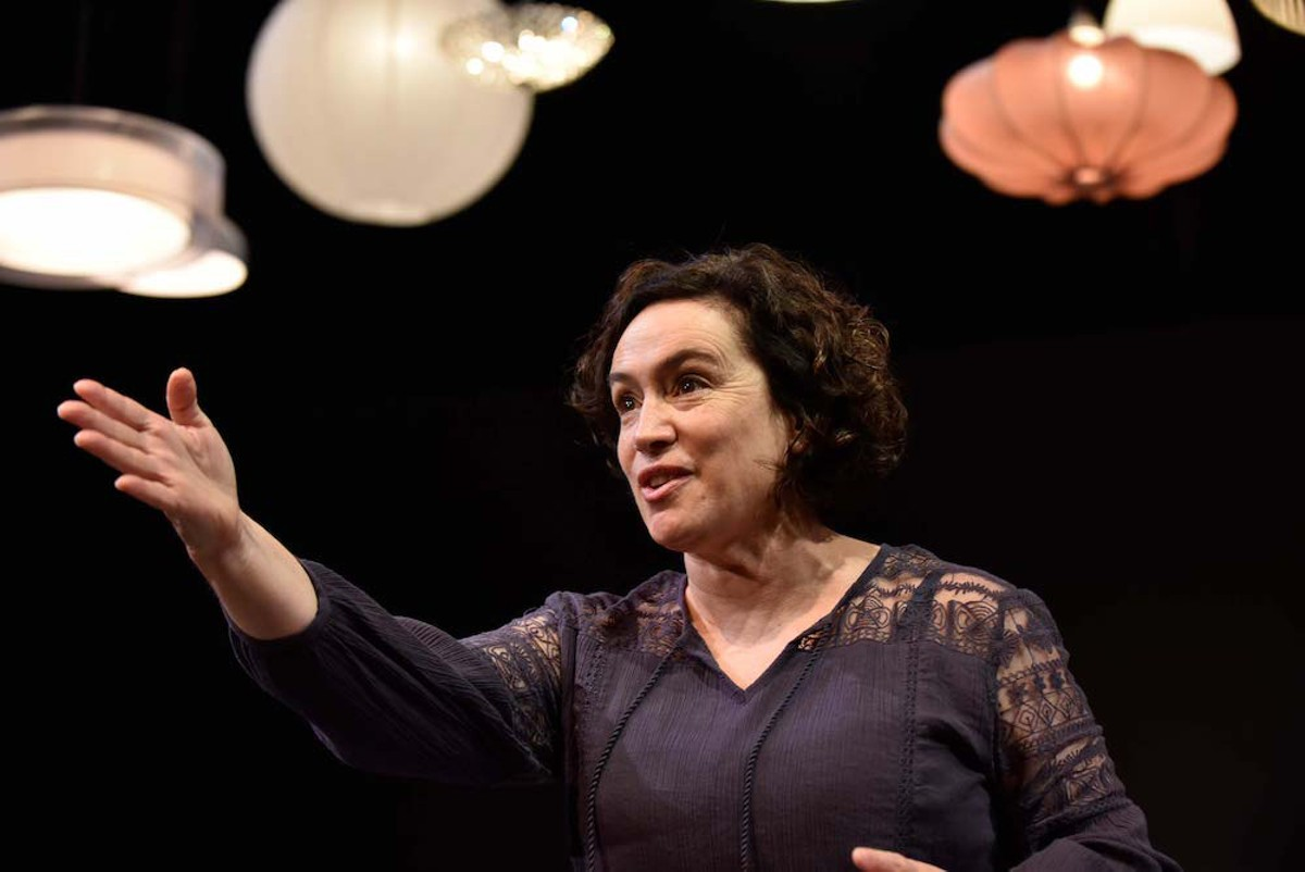 """Suzanne O'Donnell in""""Every Brilliant Thing"""" at Orlando Shakes, through Oct. 16."""