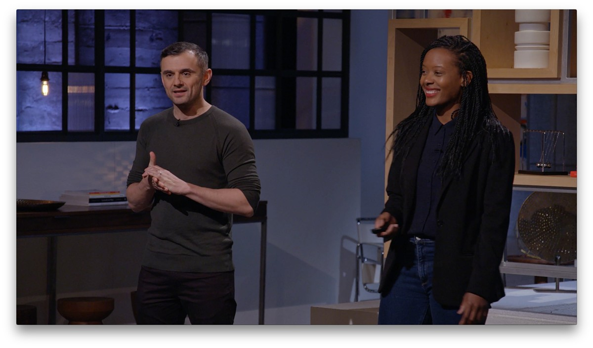 Gary Vaynerchuck and Chandra Arthur on AppleTV's 'Planet of the Apps'