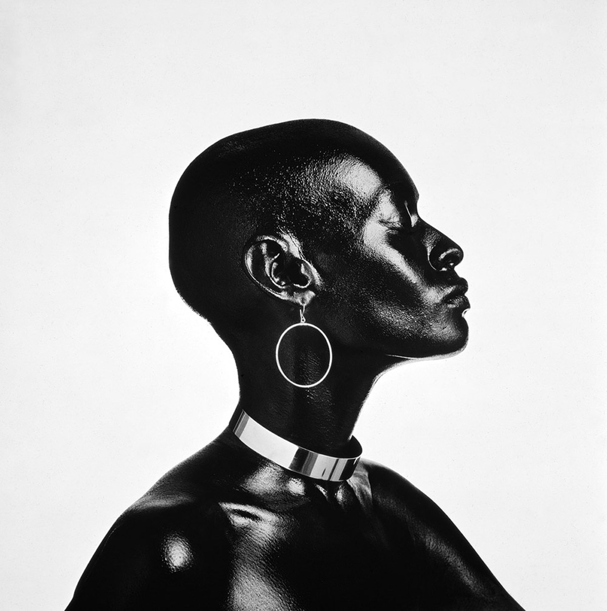 photo of Pat Evans by Anthony Barboza, from 'Posing Beauty'