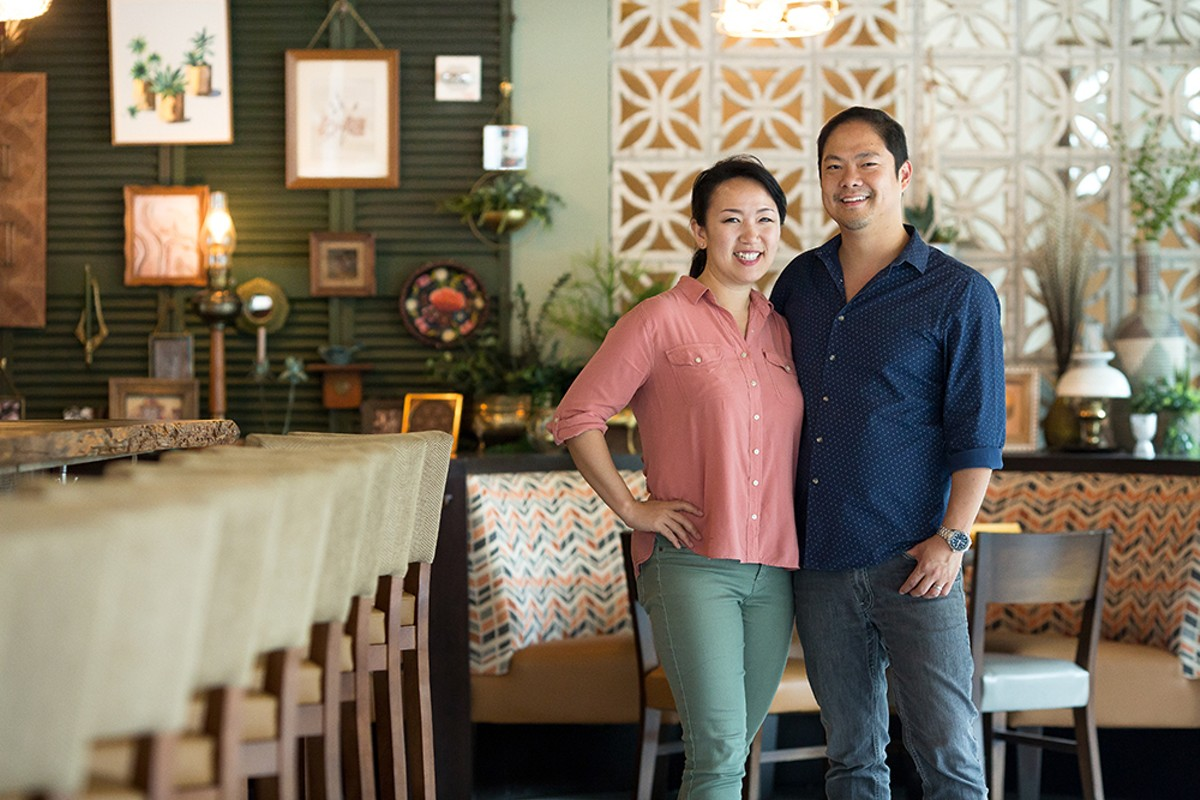 Sue and Jason Chin of Reyes Mezcaleria