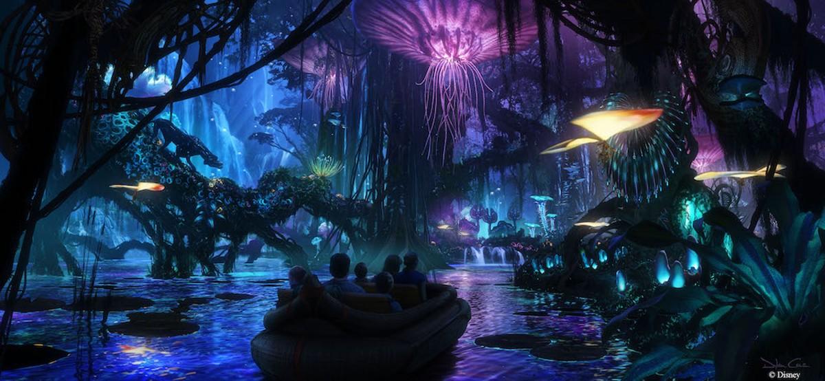 Na'vi River Boat Ride