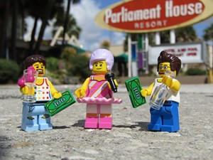 2nd Place winner Parliament House - PHOTO BY LEGO EXPLORE ORLANDO
